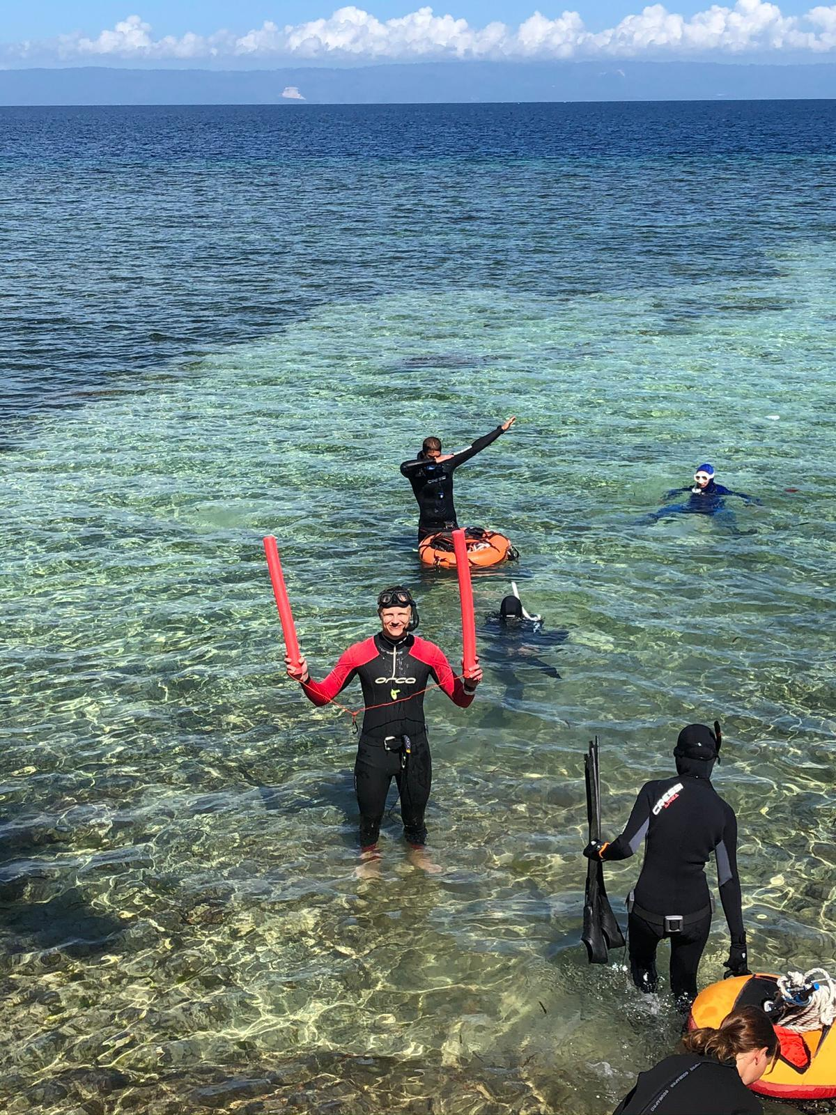 freediving in philippines
